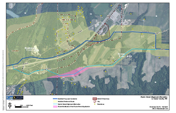 map-lesueur-myrickroute